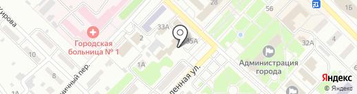 ДЮСШ, МБОУ на карте Киселёвска