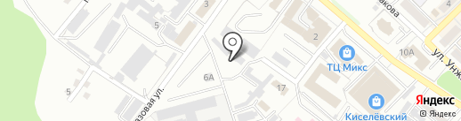 Киселёвская автомойка на карте Киселёвска