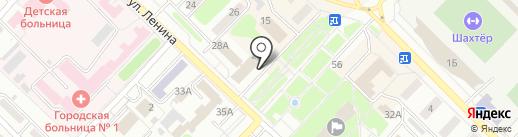 Банк Уралсиб, ПАО на карте Киселёвска