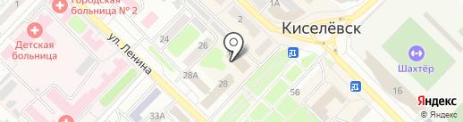 Plaza на карте Киселёвска