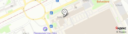 Снак на карте Прокопьевска