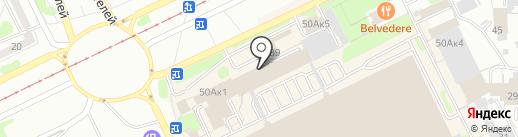 Пивная №1 на карте Прокопьевска