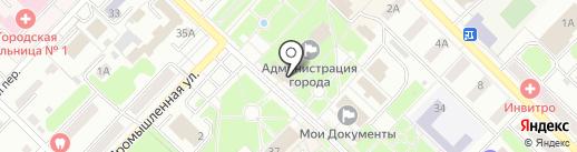 Администрация Киселёвского городского округа на карте Киселёвска