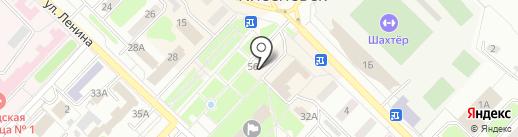 Церковная лавка на карте Киселёвска