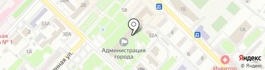 Кафе на карте Киселёвска