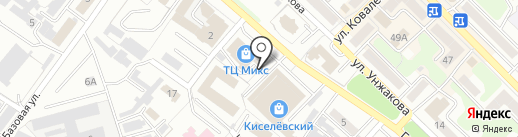 Столовая на карте Киселёвска