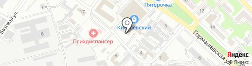 Управление канализационного хозяйства на карте Киселёвска