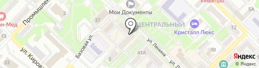 Акварель на карте Киселёвска