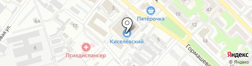 ГрандТорг на карте Киселёвска