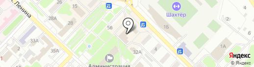 Углеметбанк на карте Киселёвска