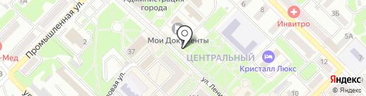 Киоск фастфудной продукции на карте Киселёвска