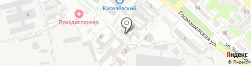 Профдезинфекция, ЗАО на карте Киселёвска