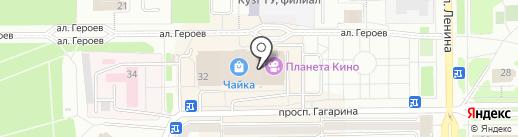 Комиссионный магазин на карте Прокопьевска