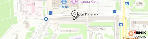 Татьяна на карте Прокопьевска