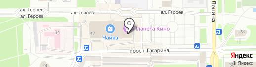Гламур на карте Прокопьевска