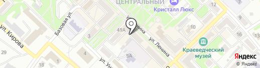 Лео на карте Киселёвска