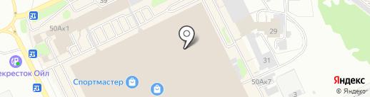 Георгиевский квас на карте Прокопьевска