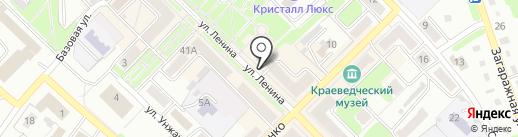 Северный ветер на карте Киселёвска