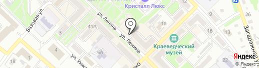 СПОРТ-АРЕНА на карте Киселёвска