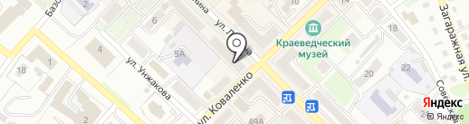 Дамские штучки на карте Киселёвска