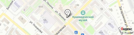 Калина-Малина на карте Киселёвска