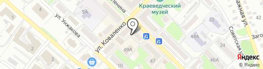 Салями на карте Киселёвска