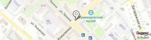 Еврофото на карте Киселёвска