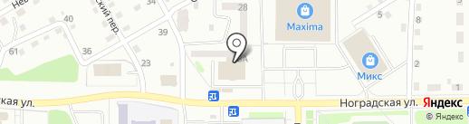Монро на карте Прокопьевска