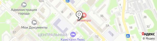 Главное бюро медико-социальной экспертизы по Кемеровской области на карте Киселёвска