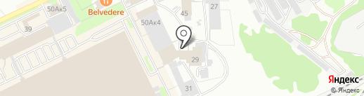 Жара на карте Прокопьевска