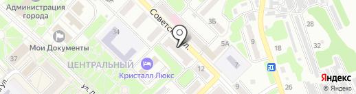 Лагуна на карте Киселёвска