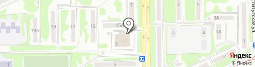 Сауна на карте Прокопьевска