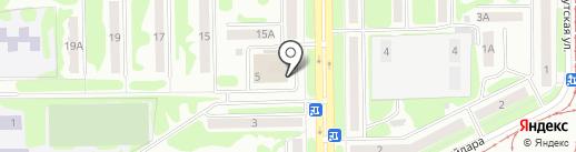 Город Цветов на карте Прокопьевска