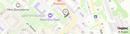 Врачебно-физкультурный диспансер на карте Киселёвска