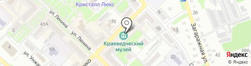 Краеведческий музей г. Киселёвска на карте Киселёвска