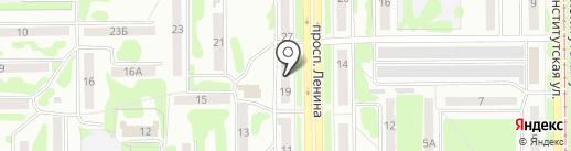 Салон текстиля для дома на карте Прокопьевска