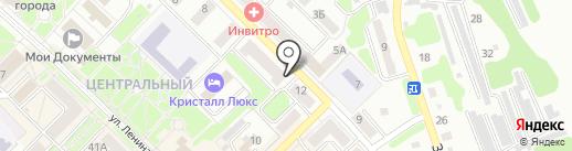 Брудер на карте Киселёвска