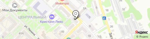 Росгосстрах, ПАО на карте Киселёвска