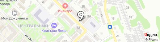 Отдел государственной статистики в г. Киселёвске на карте Киселёвска