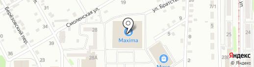 Банкомат, Альфа-Банк на карте Прокопьевска