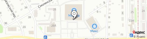 МегаФон на карте Прокопьевска