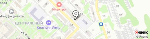 Управление социальной защиты населения Администрации Киселёвского городского округа на карте Киселёвска