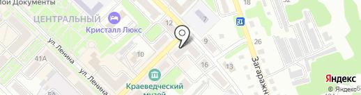 Банкомат, Банк ВТБ 24, ПАО на карте Киселёвска