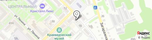 Дачник на карте Киселёвска
