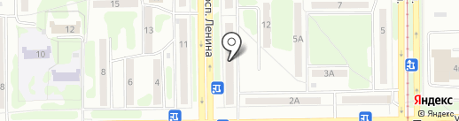 ЖЭК №9 на карте Прокопьевска