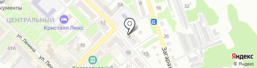Нотариус Сотникова И.Ф. на карте Киселёвска