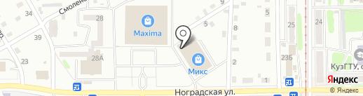 ХОЗЦЕНТР на карте Прокопьевска