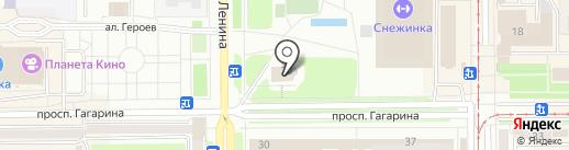 Натуральные продукты на карте Прокопьевска