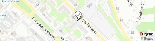 Веломоторс на карте Киселёвска