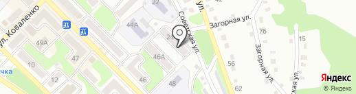 Центр-сервисного обслуживания на карте Киселёвска